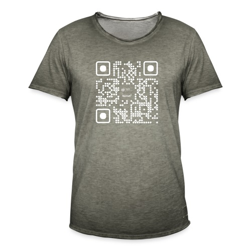 QR - Maidsafe.net White - Men's Vintage T-Shirt