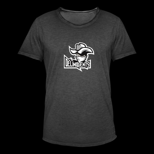 Delinquents TriColor - Herre vintage T-shirt