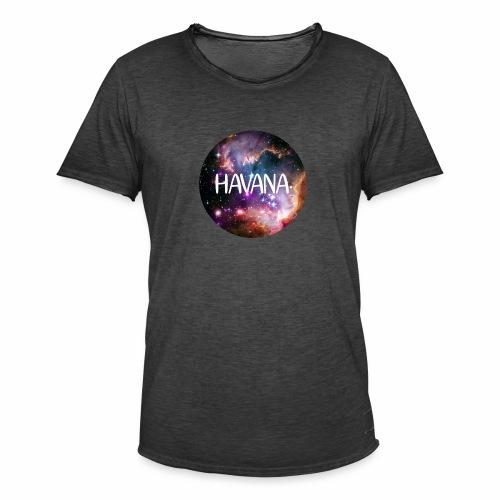 HavanaKosmos - Männer Vintage T-Shirt