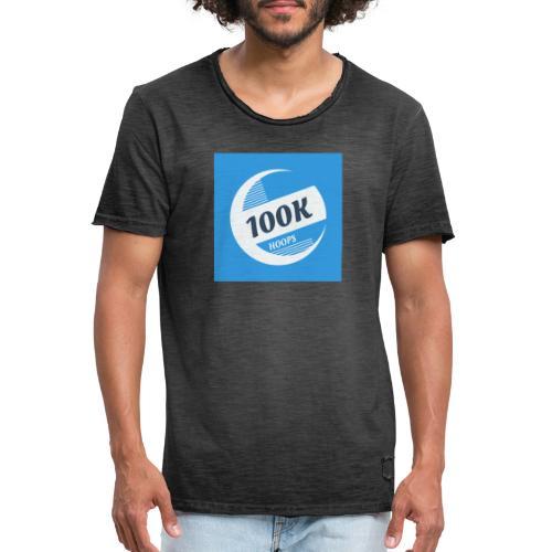 100K HOOPS NEW - T-shirt vintage Homme