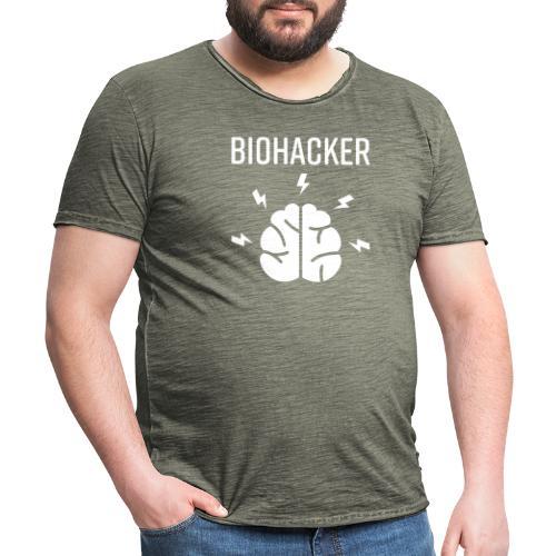 Biohacker Biohacking Geschenk Lifestyle Keto Shirt - Männer Vintage T-Shirt