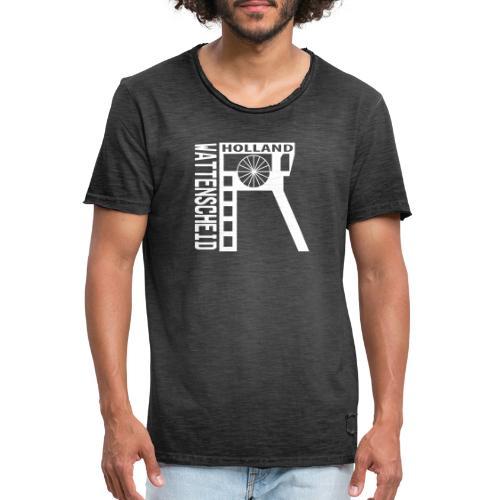 Zeche Holland (Wattenscheid) - Männer Vintage T-Shirt