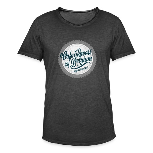 caferacersofbelgium - Mannen Vintage T-shirt