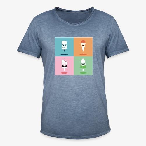 Ijsjes - Mannen Vintage T-shirt