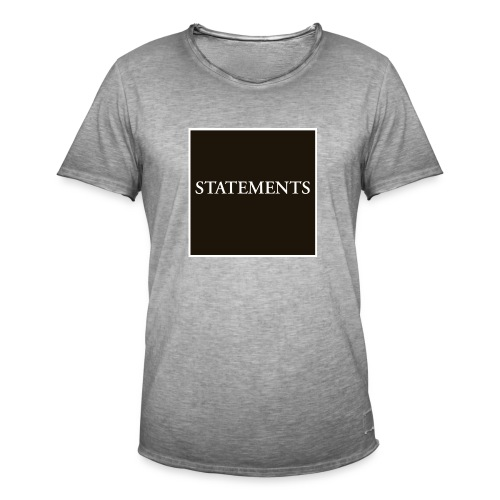Statements EP Cover - Vintage-T-shirt herr