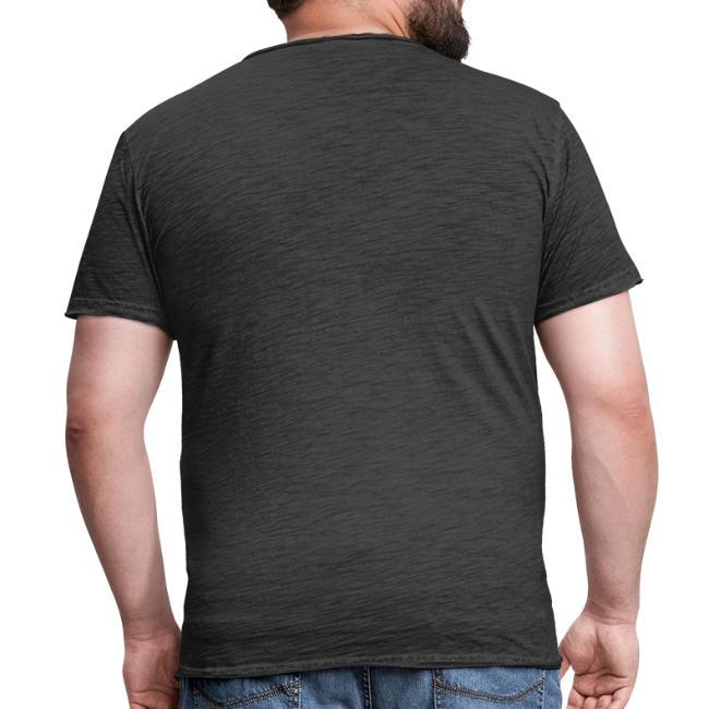 Vorschau: ana vo uns zwa is bleda ois i - Männer Vintage T-Shirt