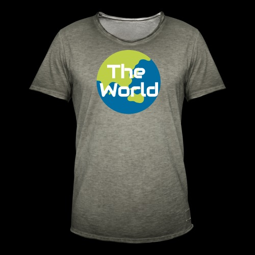 The World Earth - Herre vintage T-shirt