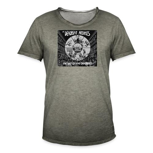 The Day Of The Deadbeats - Men's Vintage T-Shirt