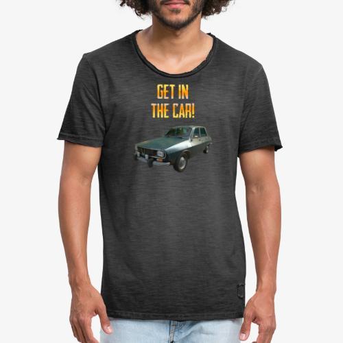 PUBG Get in the car! - Männer Vintage T-Shirt