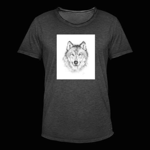 Wolf - Herre vintage T-shirt