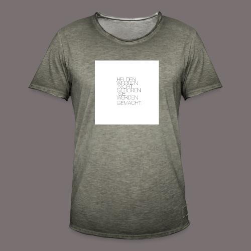 Helden - Männer Vintage T-Shirt