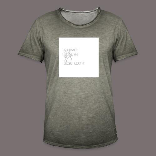 Atomare Pilze streiten nicht über ihr Geschlecht. - Männer Vintage T-Shirt