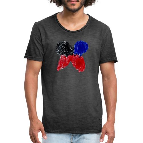 The Butterfly - Men's Vintage T-Shirt