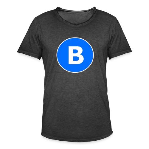 BluePrison - Herre vintage T-shirt