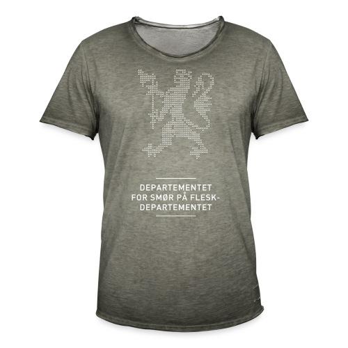 Departementsdepartementet (fra Det norske plagg) - Vintage-T-skjorte for menn