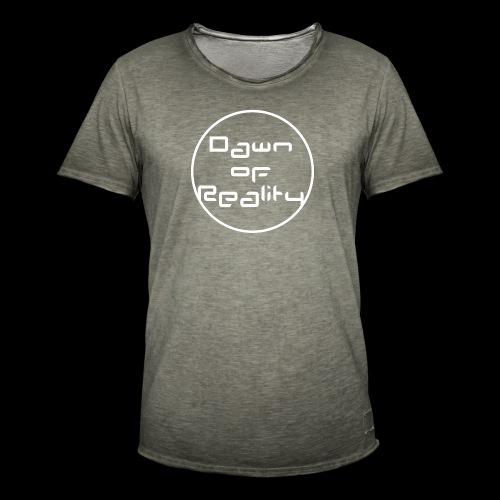 Dawn of Reality Merch - Men's Vintage T-Shirt