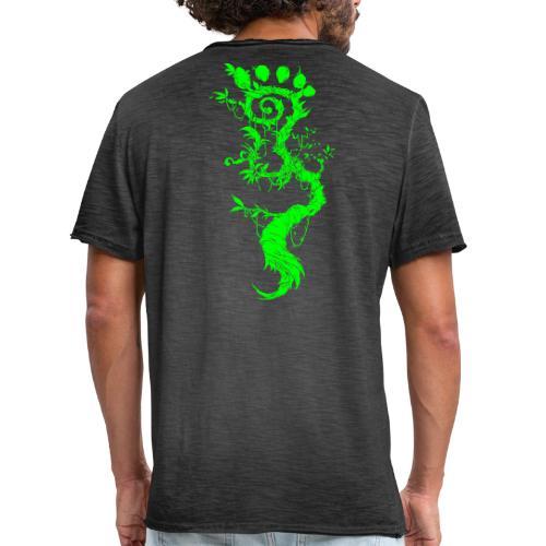 FootMoss green - Men's Vintage T-Shirt