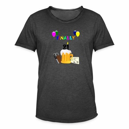 Finally 21 (2) - Men's Vintage T-Shirt