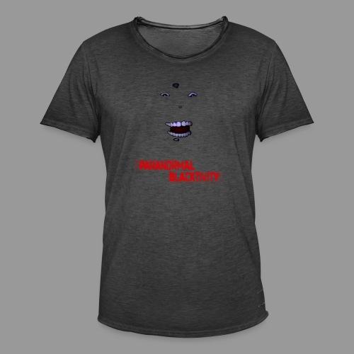 Paranormal Blacktivity - Männer Vintage T-Shirt