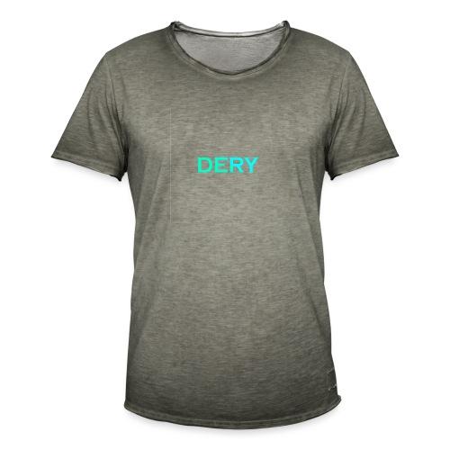 DERY - Männer Vintage T-Shirt