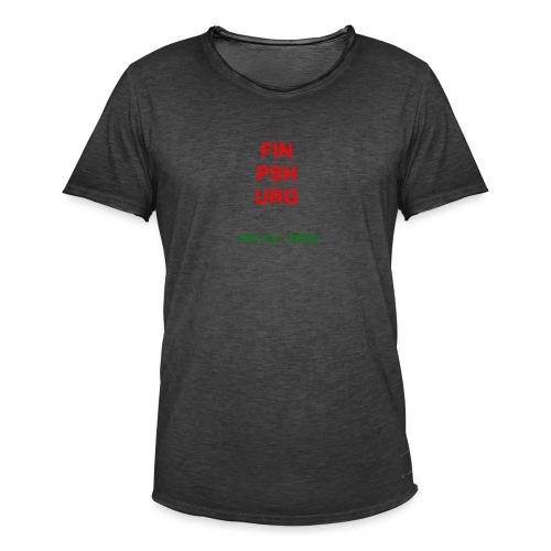 Merry nmap - Men's Vintage T-Shirt
