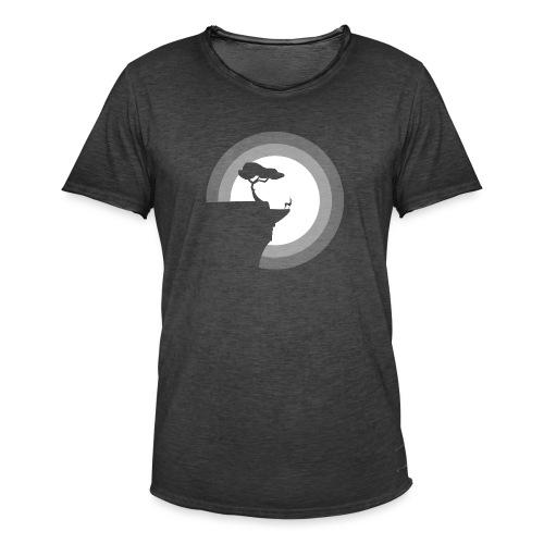 La pleine lune - T-shirt vintage Homme