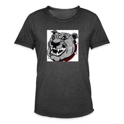 Funny Pitbull - T-shirt vintage Homme