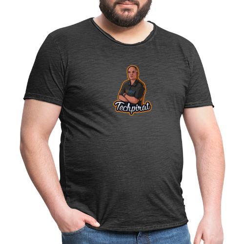 TechPirat - Männer Vintage T-Shirt