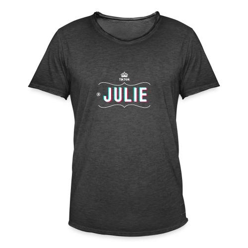 tshirt Julie - T-shirt vintage Homme