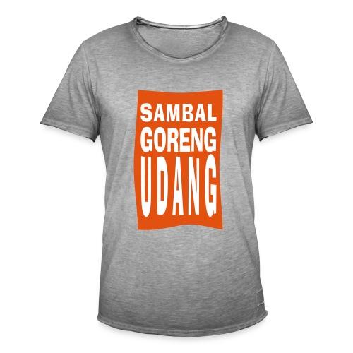 SAMBAL goreng - Mannen Vintage T-shirt