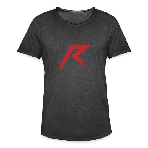 Raffie Logo - Mannen Vintage T-shirt