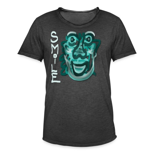 Smile - Men's Vintage T-Shirt