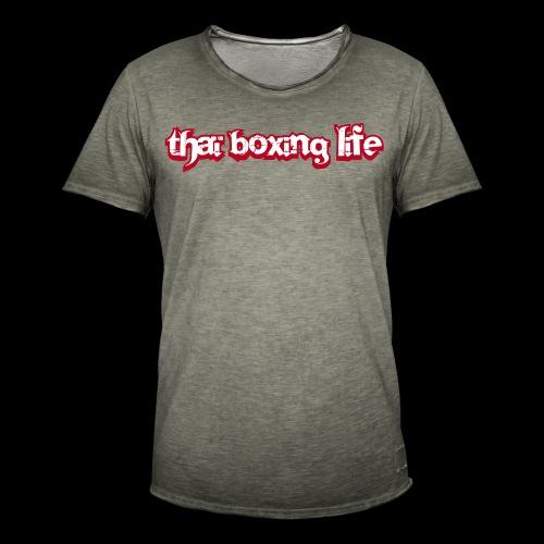 MTS92 THAI BOXING LIFE - T-shirt vintage Homme