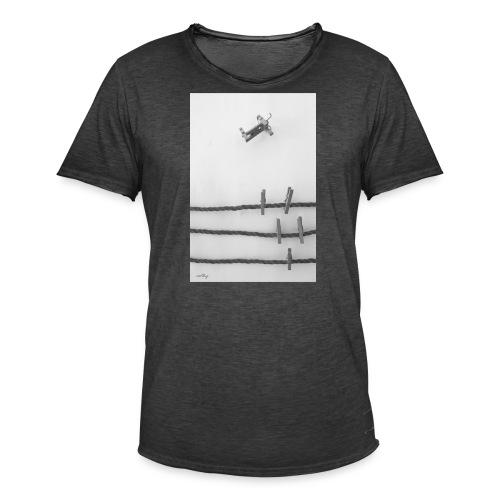 se tu mismo, by roothy - Camiseta vintage hombre