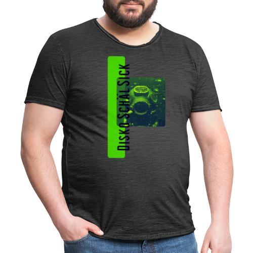 Disko Schäl Sick LogoBig - Männer Vintage T-Shirt