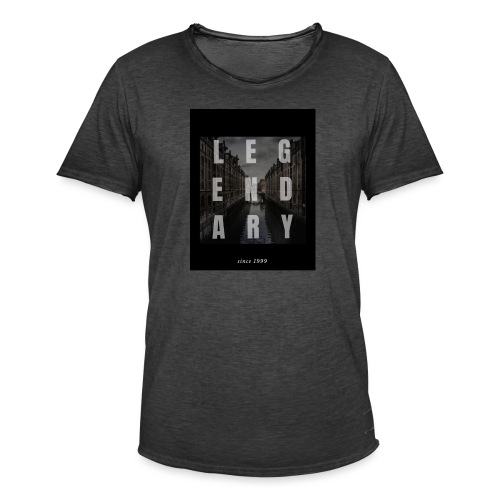 Legendary - Camiseta vintage hombre