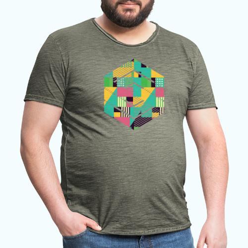 Geometric composition - Men's Vintage T-Shirt