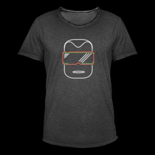 logo kopf - Männer Vintage T-Shirt