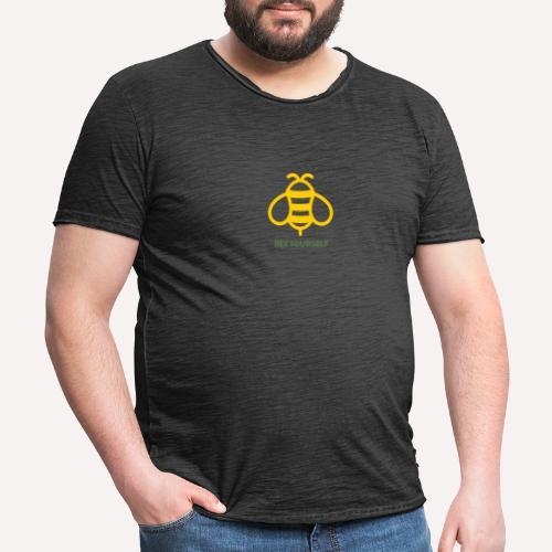 Bee Yourself - Men's Vintage T-Shirt