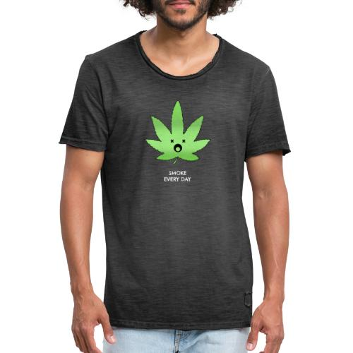 Smoke Every Day - Männer Vintage T-Shirt