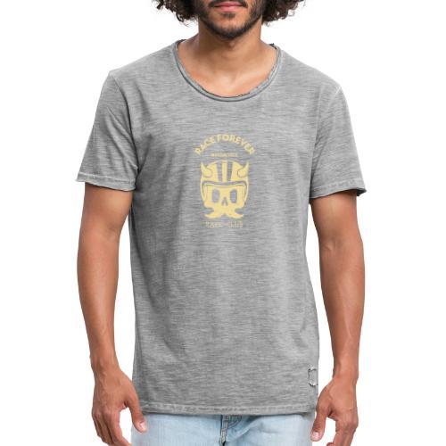 bikers racing club t shirt design template featuri - Herre vintage T-shirt