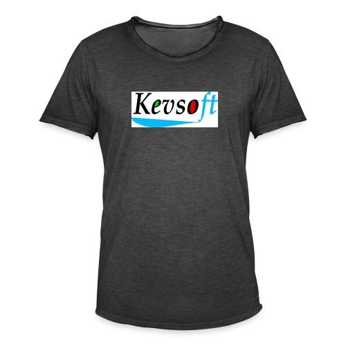 Kevsoft - Men's Vintage T-Shirt