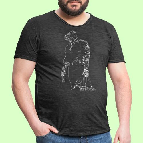 PITBULL STYLE!! - Camiseta vintage hombre