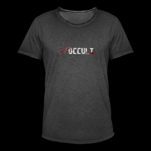 Occult Ghost Hunts - Men's Vintage T-Shirt