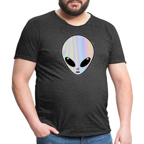 1NE 7EVEN - Camiseta vintage hombre