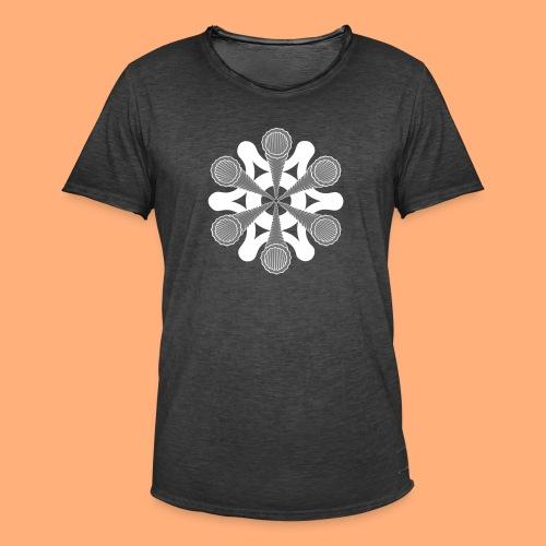 vortex - T-shirt vintage Homme