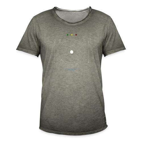Logo moon #1 - T-shirt vintage Homme