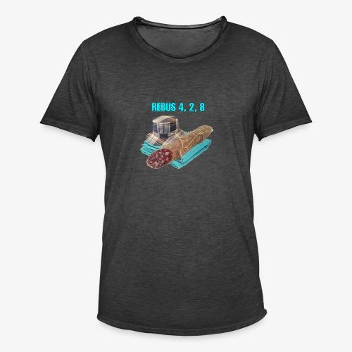 NDW REBUS - Maglietta vintage da uomo