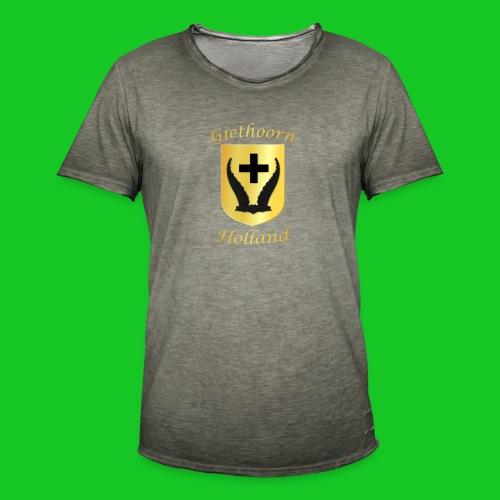 Giethoorn 2 - Mannen Vintage T-shirt