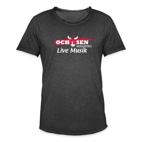Shirt Ochsen Maulburg - Männer Vintage T-Shirt